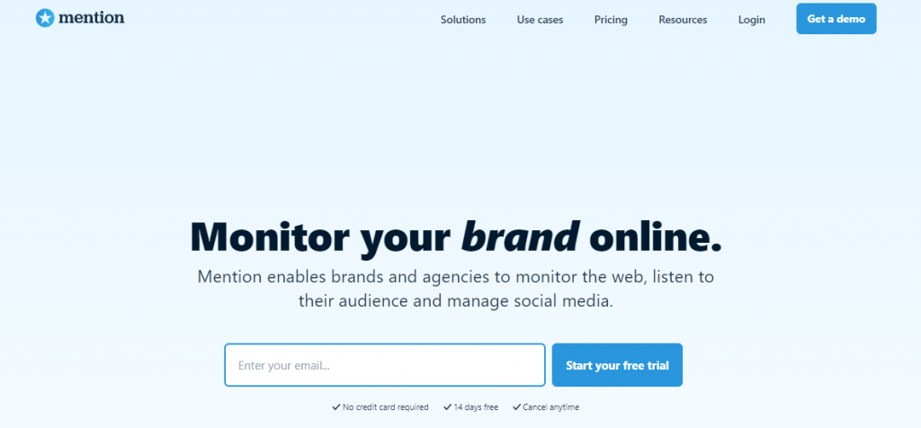 Mention Alternatives and Competitors