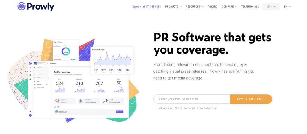Prowly PR Software