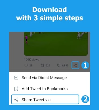 How to Download Twitter Videos on Android device